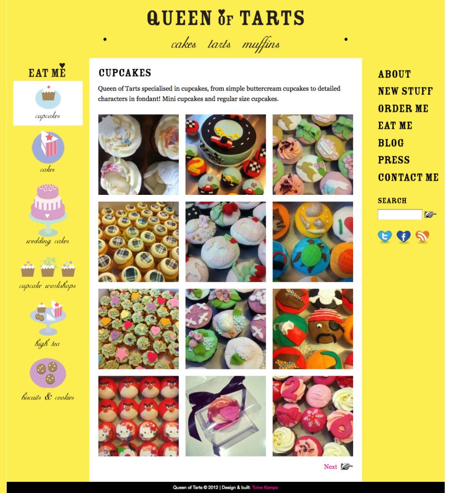 Queen of Tarts - Cupcakes