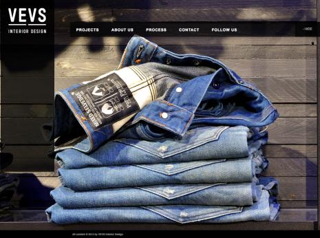 VEVS Interior Design - Homepage