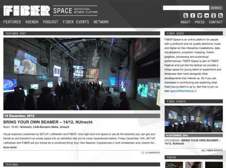 FIBER Space - Homepage