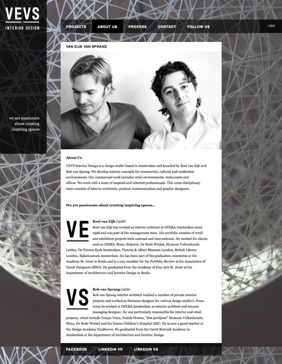 VEVS Interior Design - About Us