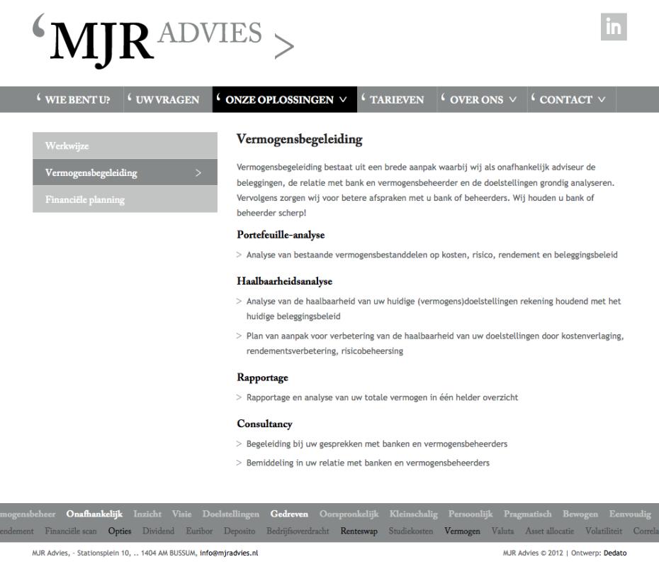 MJR Advies - Vermogensbegeleiding
