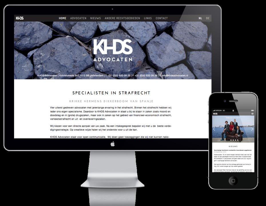 KHDS Advocaten - Responsive