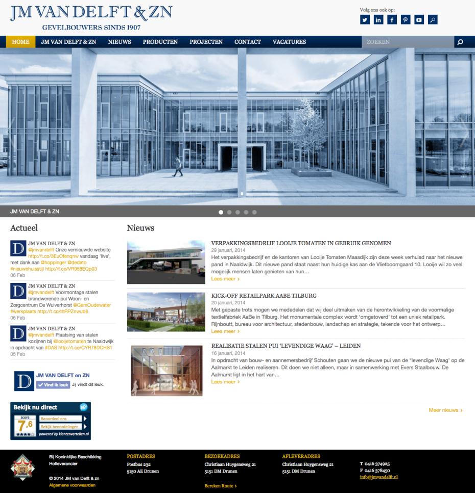 JM van Delft - Homepage