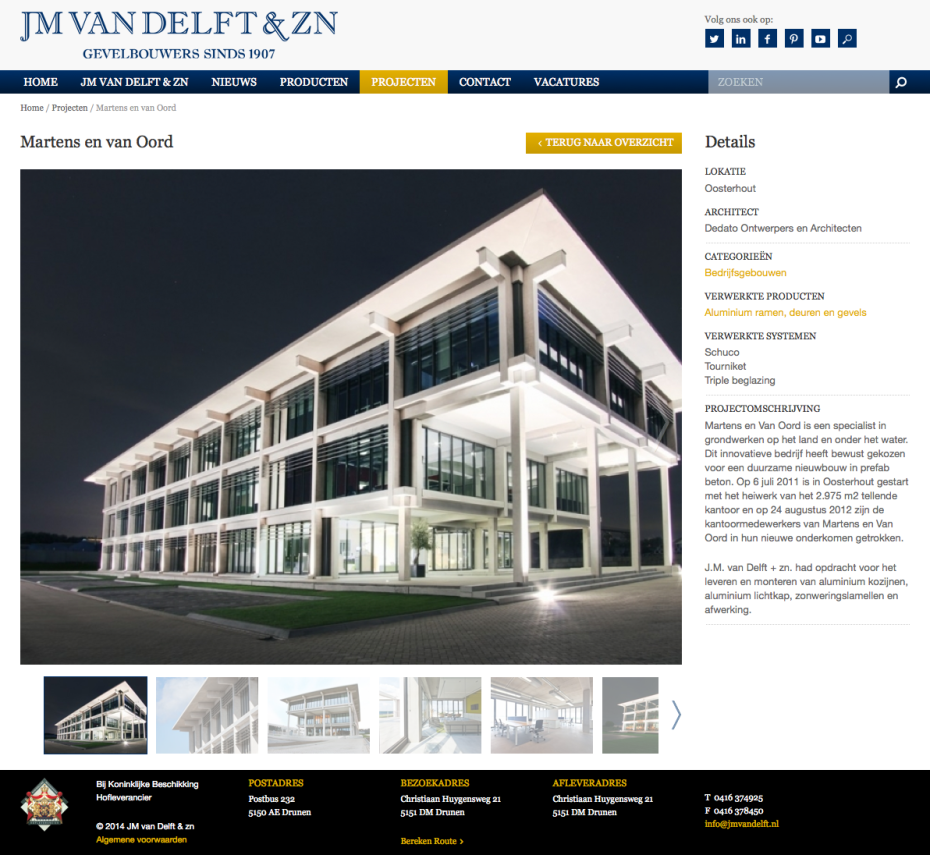 JM van Delft - Project: Martens en van Oord