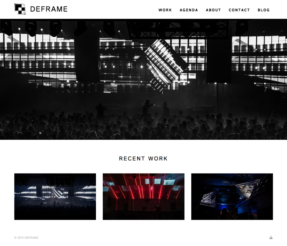 DEFRAME Homepage
