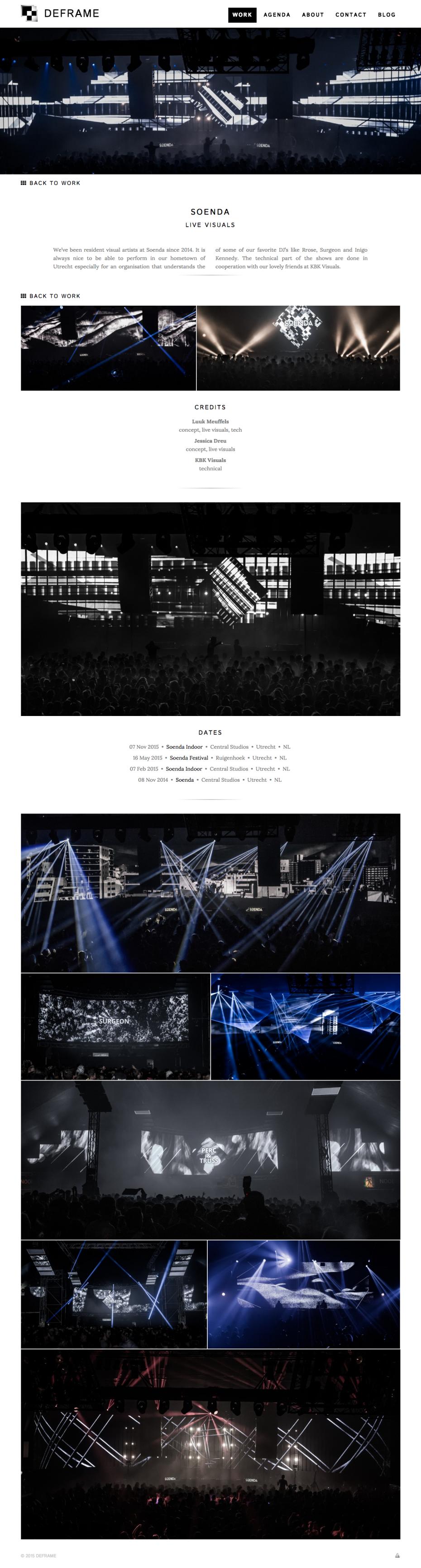 DEFRAME Project: Soenda