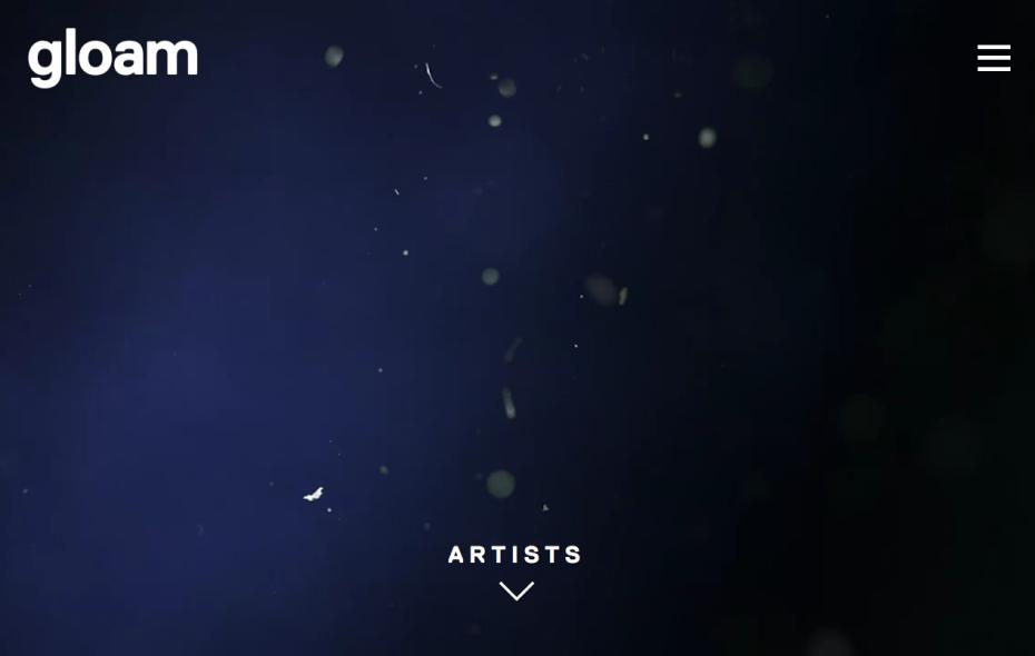 Gloam Homepage