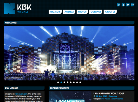 KBK Visuals - Homepage