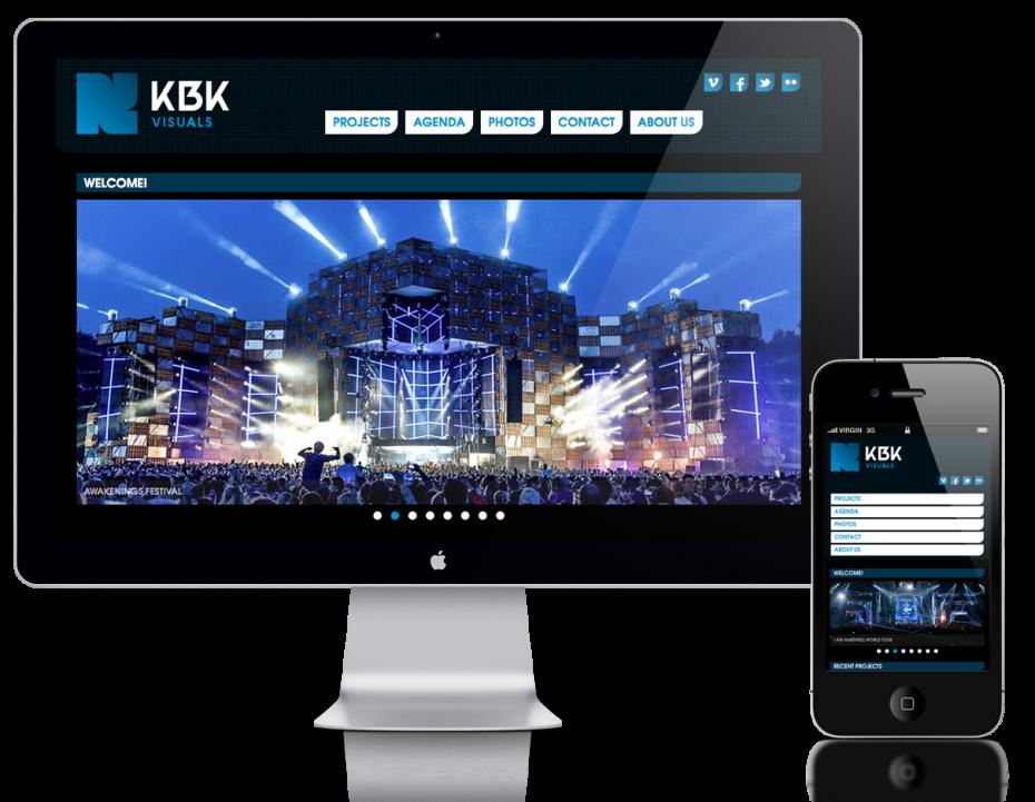 KBK Visuals - Responsive