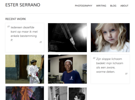 Ester Serrano - Homepage Thumb