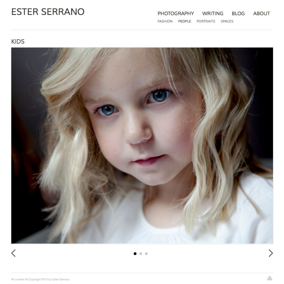 Ester Serrano - Photography: Kids