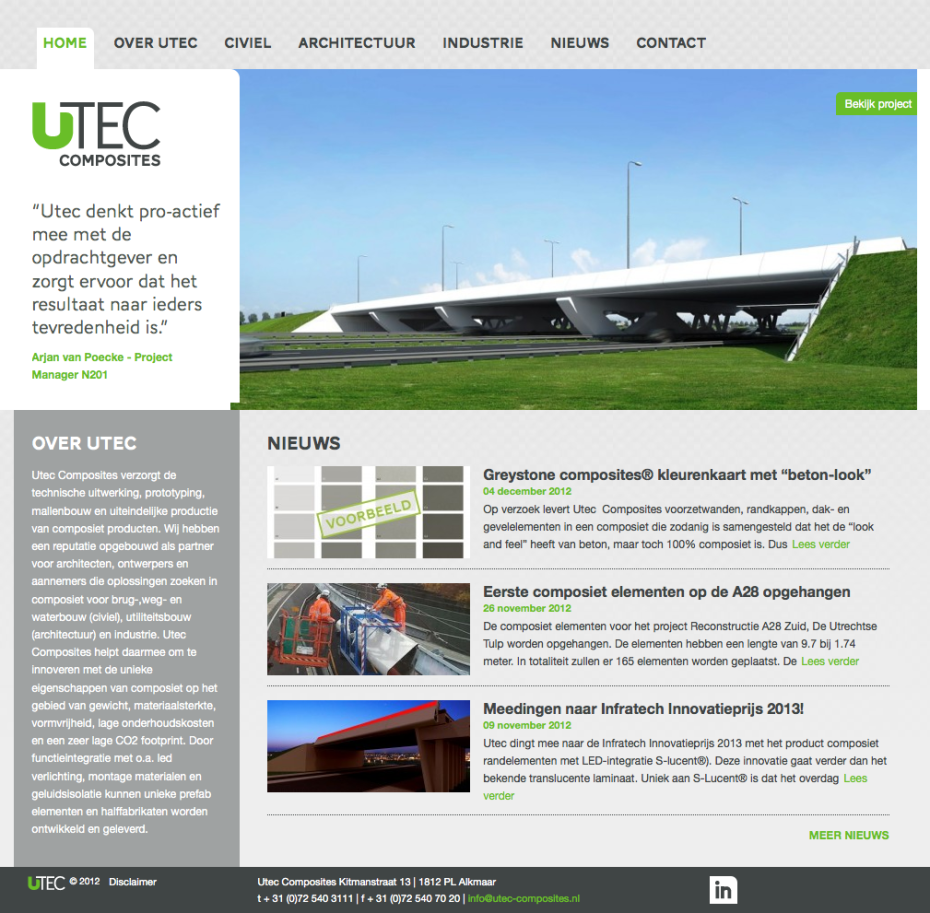 Utec Composites - Homepage