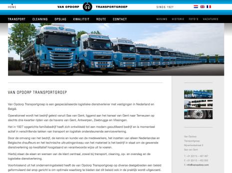 Van Opdorp Transportgroep - Home