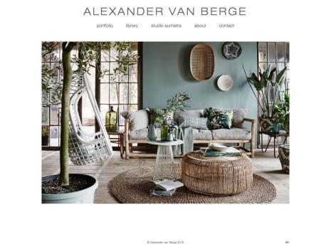Alexander van Berge - Home