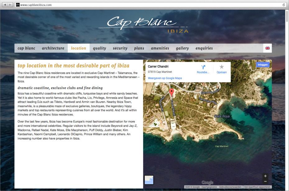 Cap Blanc Ibiza - Location