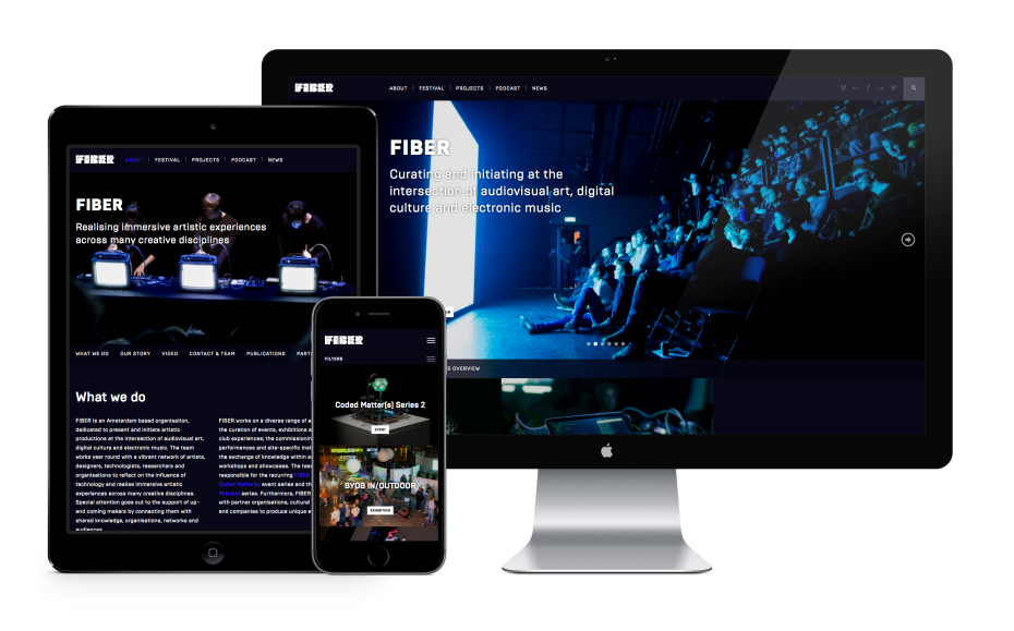 FIBER space 2015 - Responsive Layout