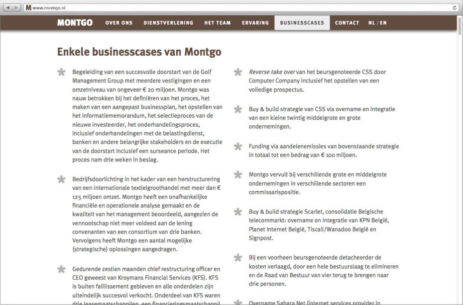 Montgo Businesscases